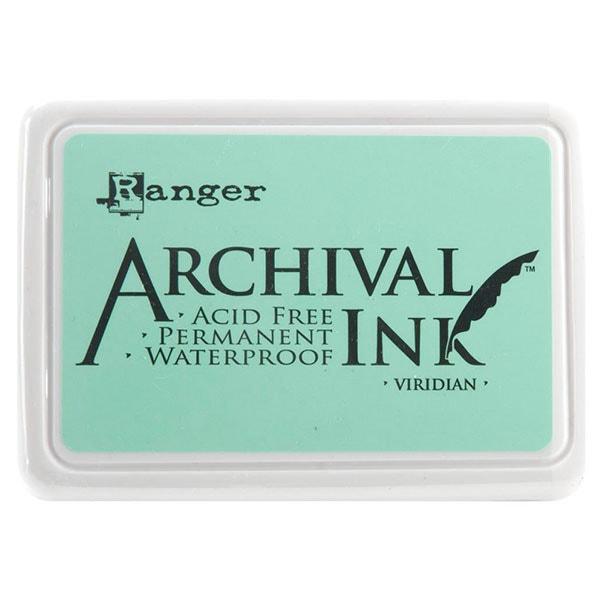 Ranger Archival Ink Pad - Viridian