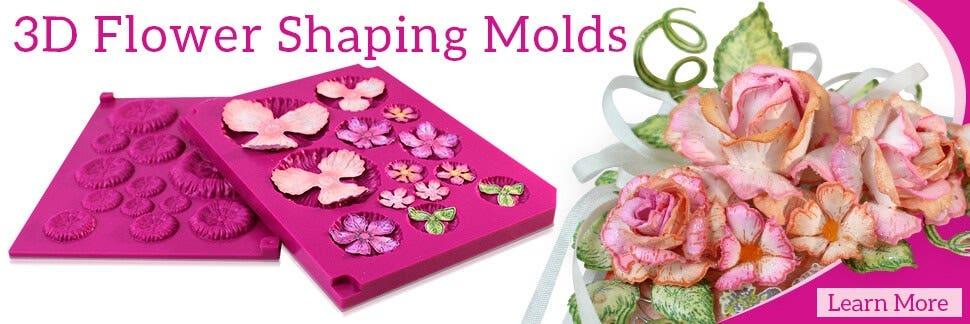 3D Flower Shaping