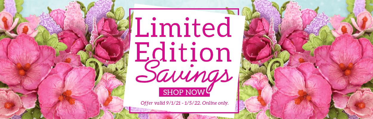 2021 Limited Edition Savings