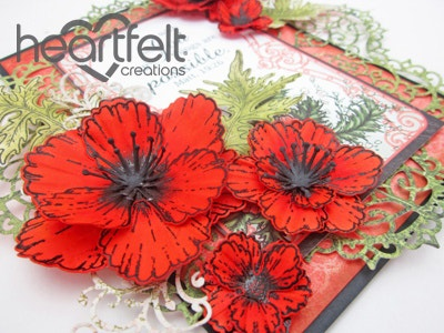 Inspirational Red Poppies