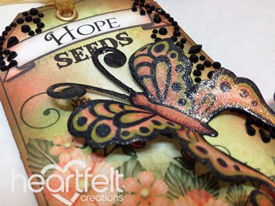 Butterfly Tags Trio