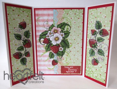 Berry Special Gatefold Card