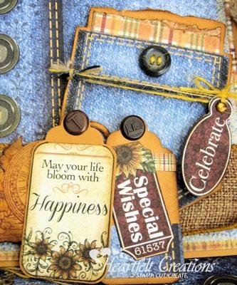 Sunflower Pocket Card