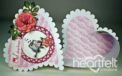 Sugar Hollow Hinged Heart Box