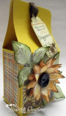 Sunflower Happiness Gable Box