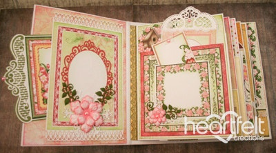 Arianna Blooms Flip Fold Memories Ablum
