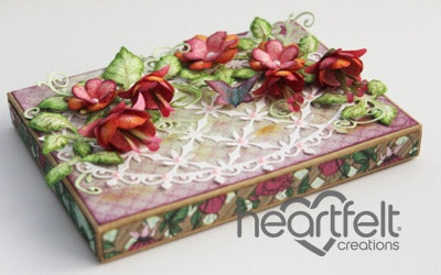 Decorative Fuchsia Gift Box