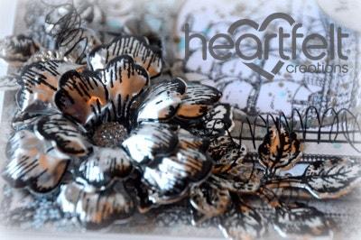 Metallic Floral