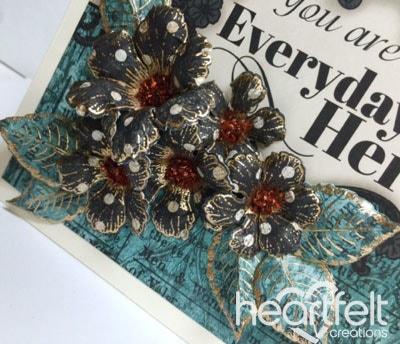 Everyday Hero Black Floral