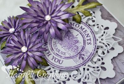 Purple Asters Gift Box