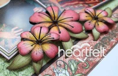 Rose Lilies Layout