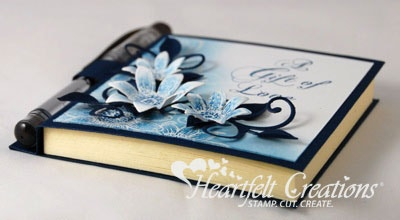 Blue Sunflowers Note And Pen Holder