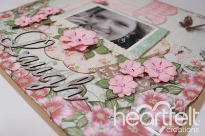 Pink Blooming Layout