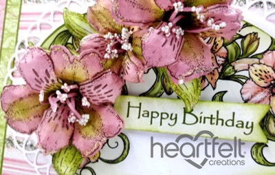 Pink Lilies Birthday