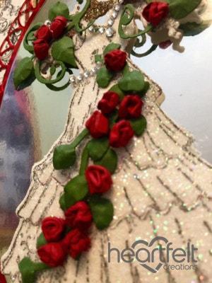 Christmas Dress Gate Fold Card