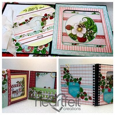 Berry Cafe CD Holder Mini Album