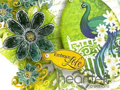 Embrace Life Peacock
