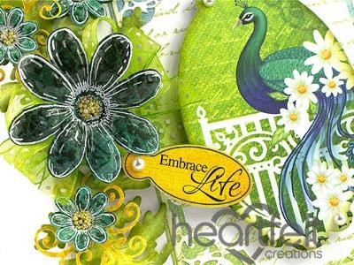 Embrace Life Peacock