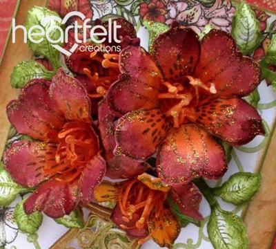 Orange Lilies Vase Bouquet