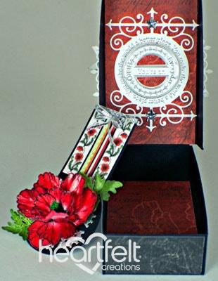 Red Poppy Box