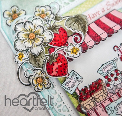 Strawberry Sweet Day Tag