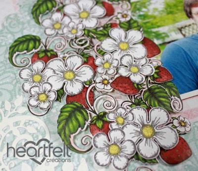 Blooming Berries Sweet Layout