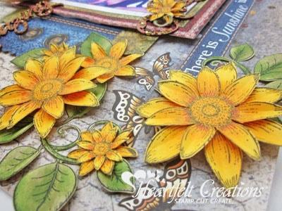 Sunflower Layout