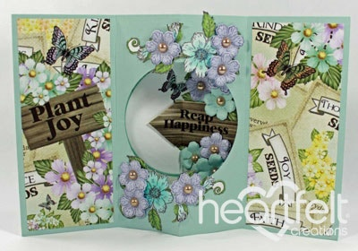 Butterfly Medley Tunnel Card