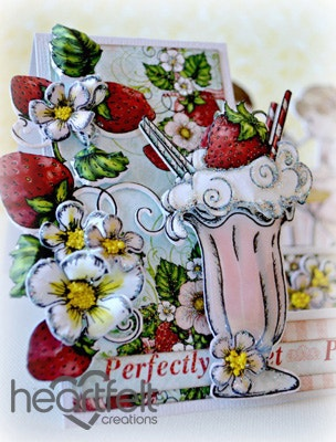 Perfectly Sweet Sundae Side Step Card