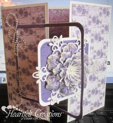 Arianna Gate Fold Card