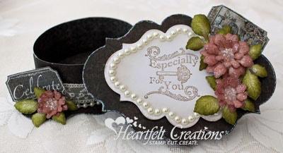 Tattered Blossoms Gift Box