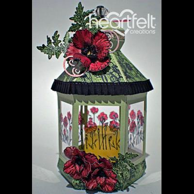 Blazing Poppy Lantern