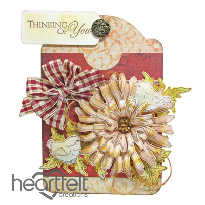 Thinking Of You Mums Gift Card Tag