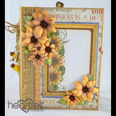 Classic Sunflower Flip Fold Album