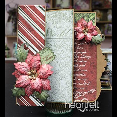 Flip Fold Christmas Card