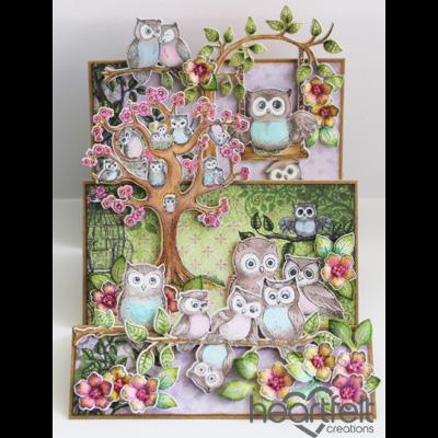 Flip Fold Owl Hangout