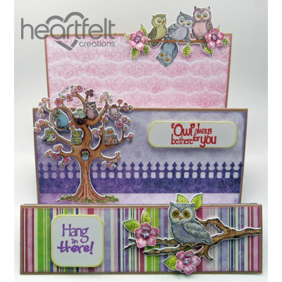 Hang In There Owl Step Card