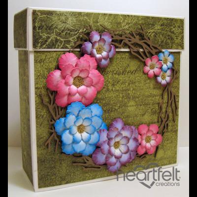 Floral Twig Frame Gift Box