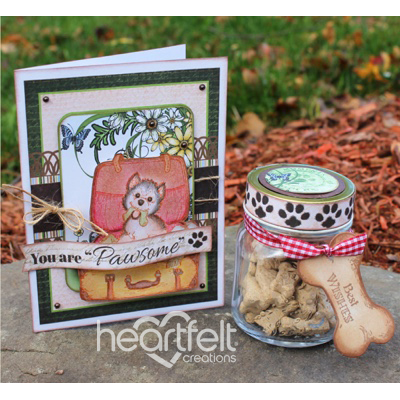 Pawsome Pooch Card And Gift Jar