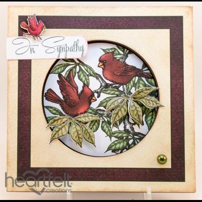 Cardinal Sympathy Card