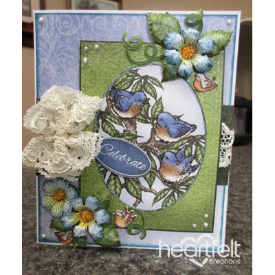 Celebrate Bluebirds And Blooms