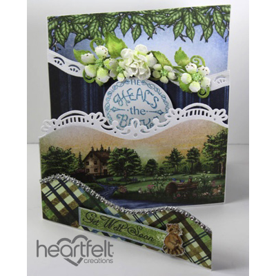 Woodsy Get Well Soon Foldout Card