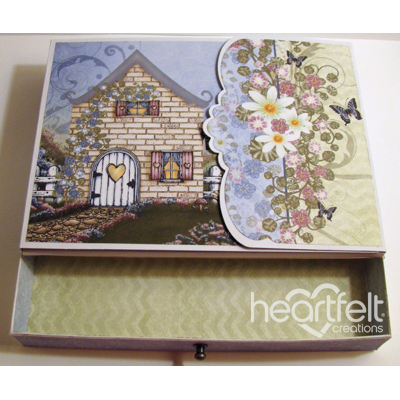 Cottage Flip Fold Album Box