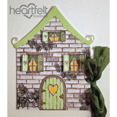 Cottage Shaped Gift Tag