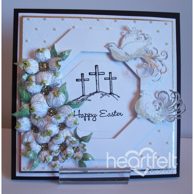 White Easter Crosses