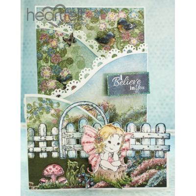 Fairy Daydreams Foldout Card