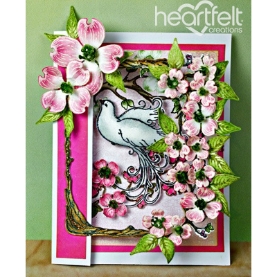 Flowering Dogwood Open Frame Card