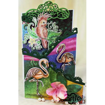 Tropical Foldout Card