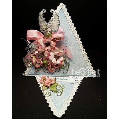 Dogwood And Dove Triangle Card