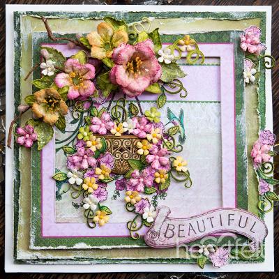 Heartfelt Creations Cut /& Emboss Dies-Large Classic Petunia